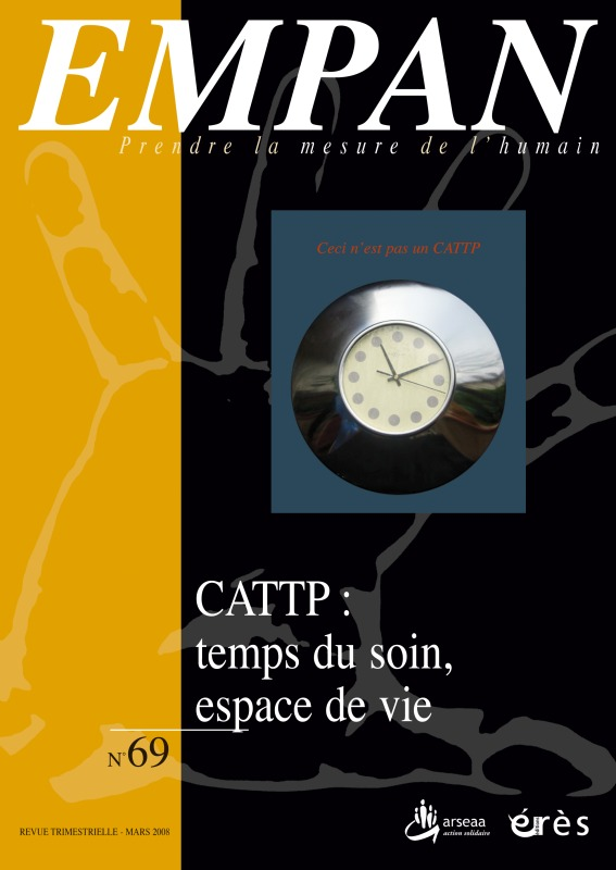 EMPAN 069 - CATTP. TEMPS DU SOIN, ESPACE DE VIE