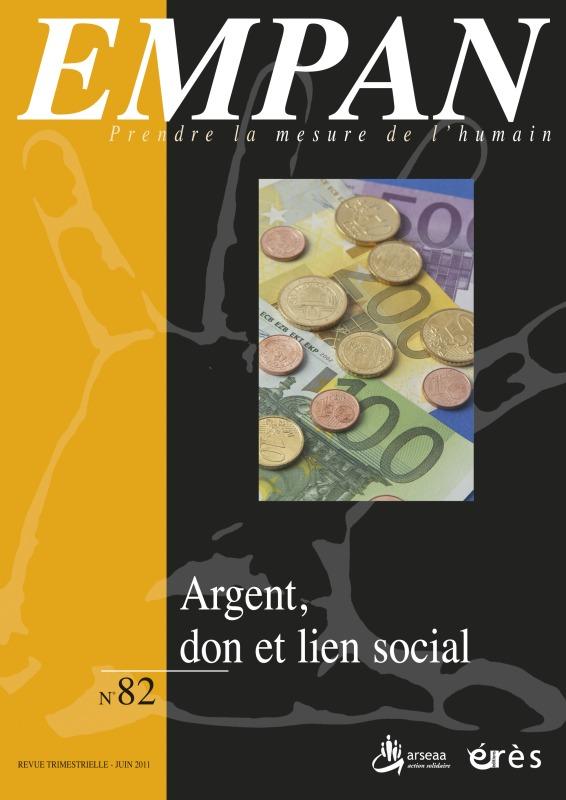 EMPAN 082 - ARGENT, DON ET LIEN SOCIAL