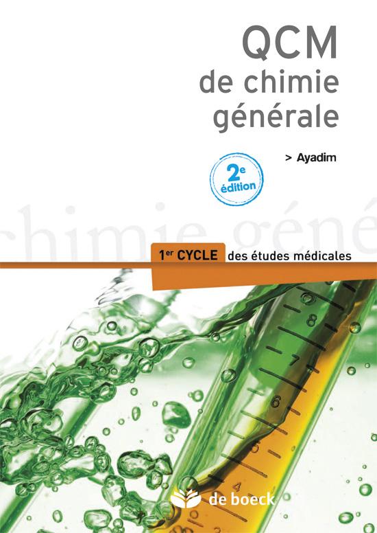 QCM DE CHIMIE GENERALE