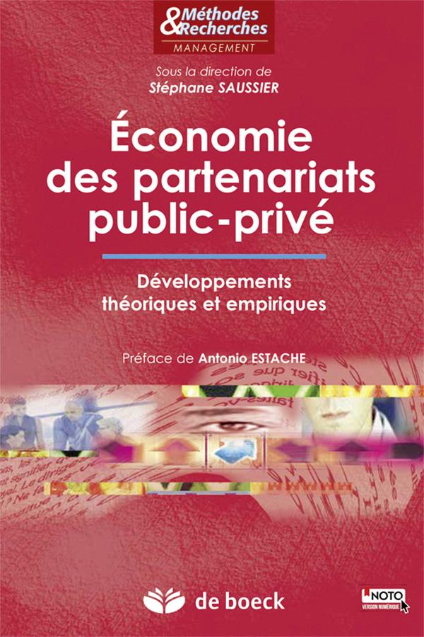 ECONOMIE DES PARTENARIATS PUBLIC-PRIVE