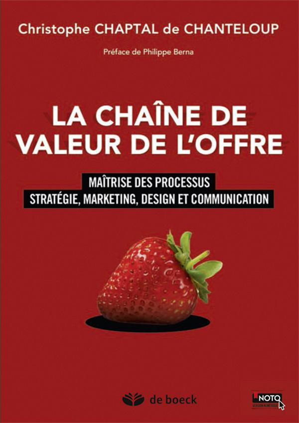 CHAINE DE VALEUR DE L'OFFRE (LA)