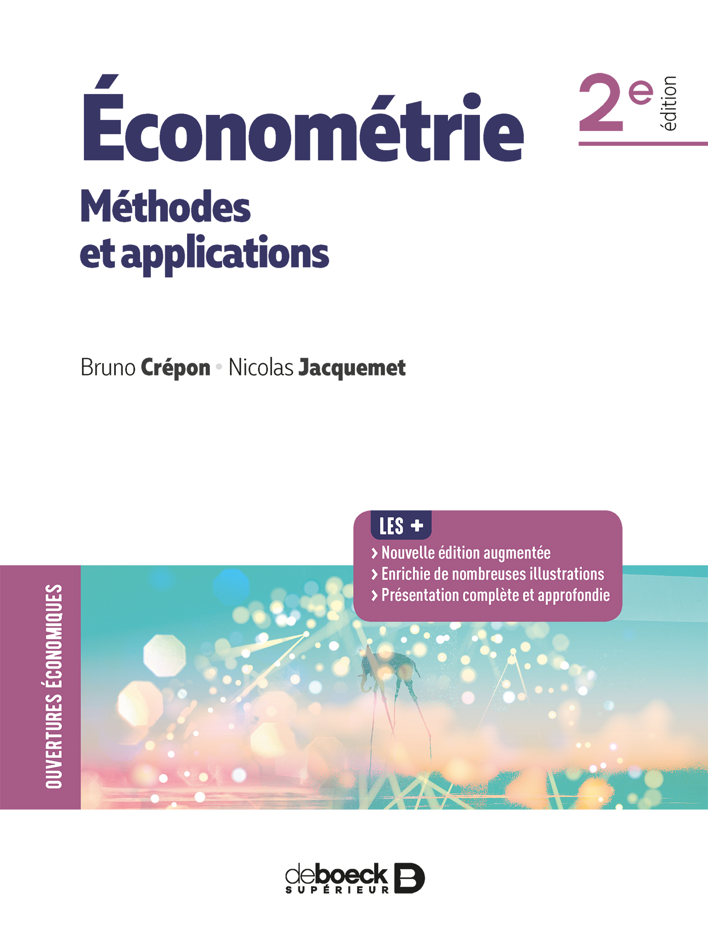 ECONOMETRIE METHODES ET APPLICATIONS