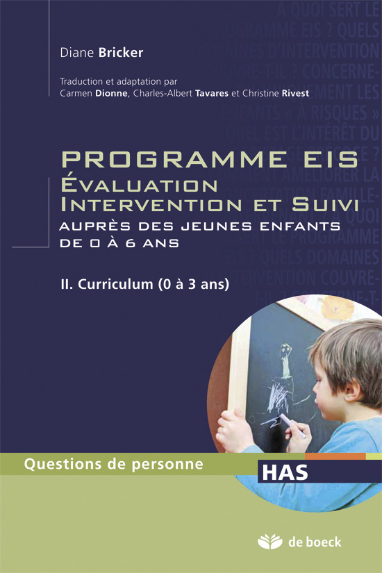 PROGRAMME EIS EVALUATION INTERVENTION ET SUIVI TOME 2