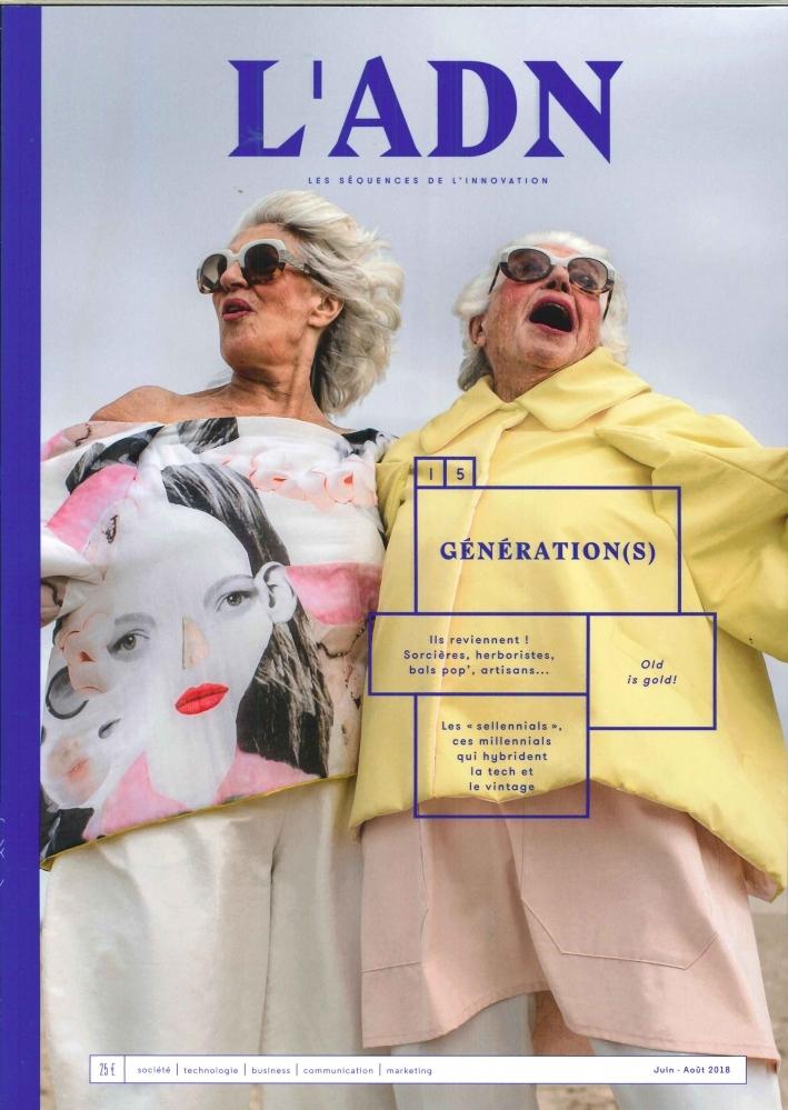 L'ADN N 15 GENERATION(S) - JUILLET 2018