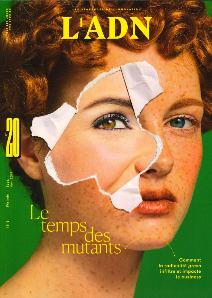 L'ADN N 20  LE TEMPS DES MUTANTS - OCTOBRE 2019