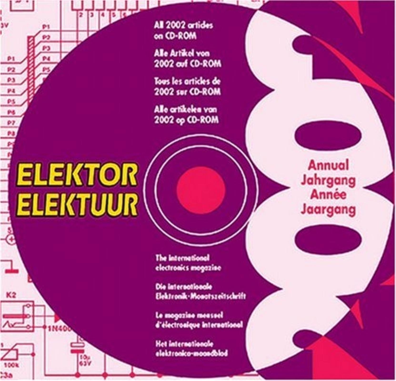 CD-ROM ELEKTOR 2002