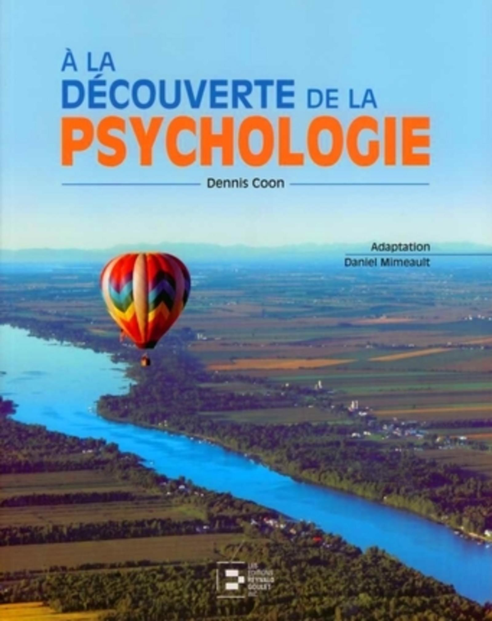 A LA DECOUVERTE DE LA PSYCHOLOGIE