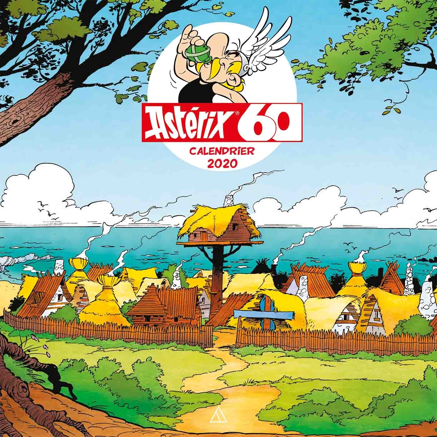 CALENDRIER MURAL - ASTERIX + STICKERS