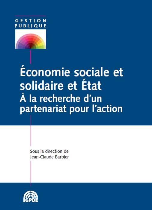 ECONOMIE SOCIALE ET SOLIDAIRE ET ETAT