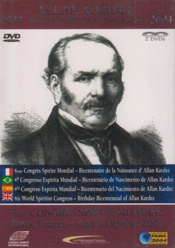 BICENTENAIRE ALLAN KARDEC 4E CSM DVD