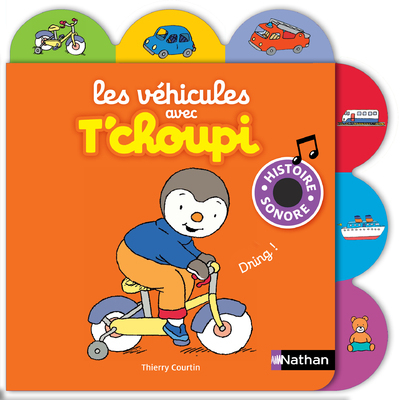 VEHICULES AVEC T'CHOUPI - VOL07