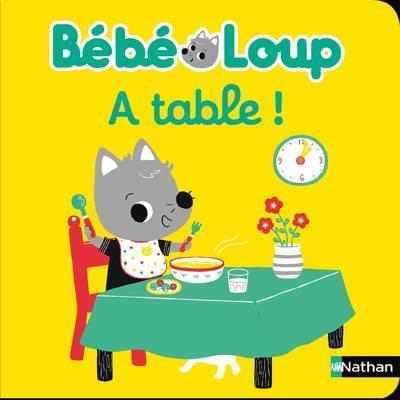 BEBE LOUP A TABLE