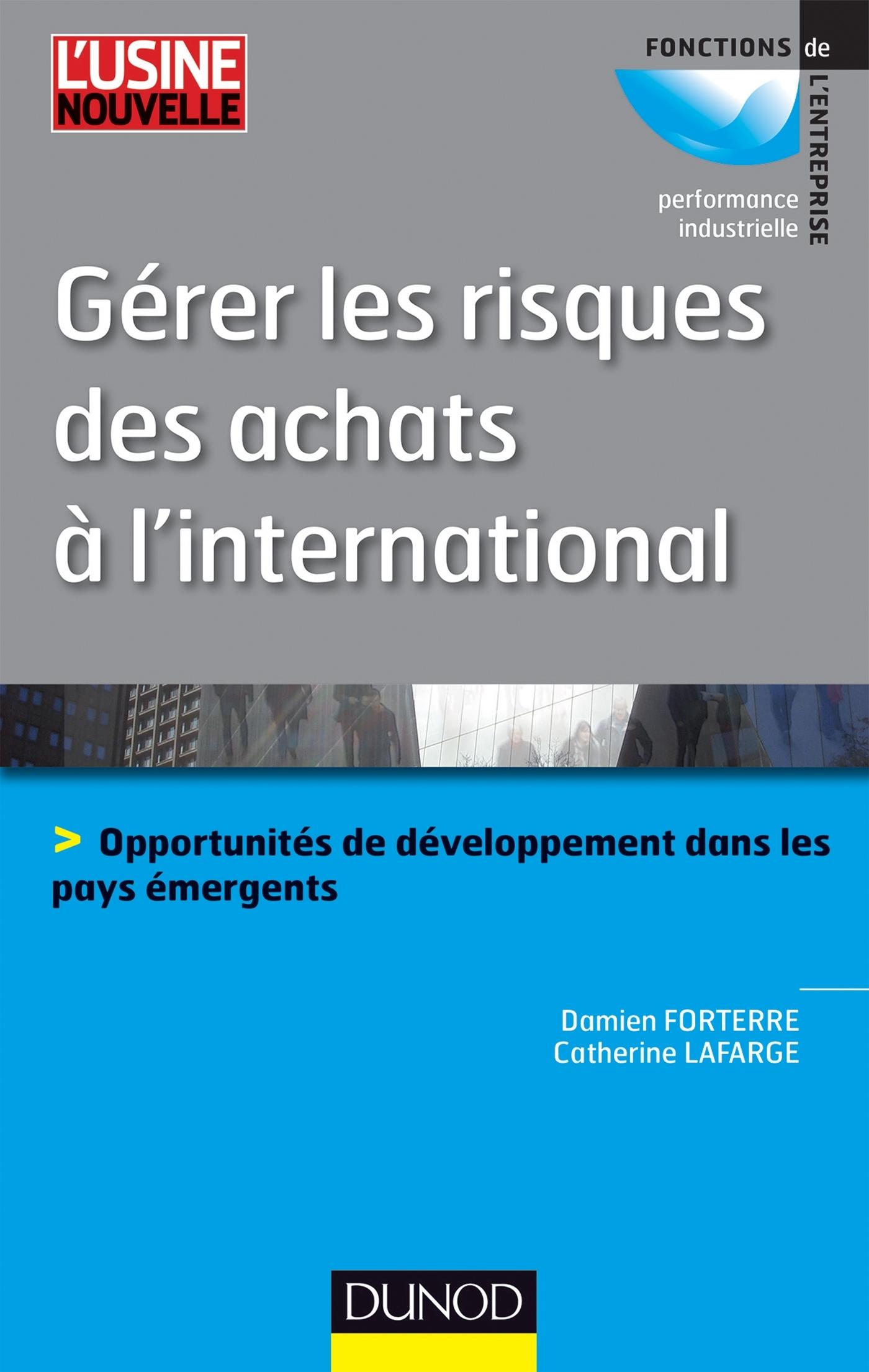 GERER LES RISQUES DES ACHATS A L'INTERNATIONAL