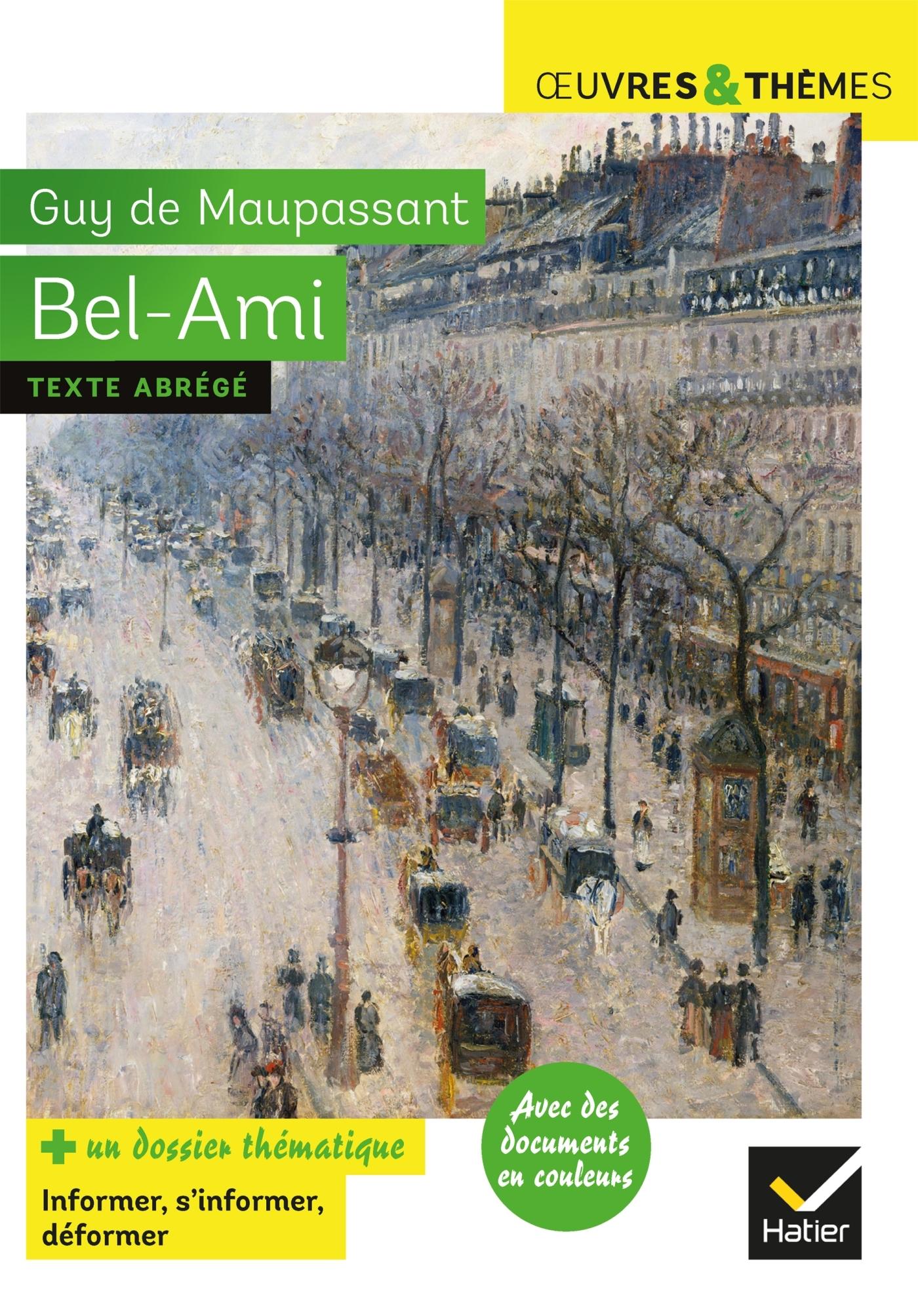 BEL-AMI - SUIVI D'UN DOSSIER THEMATIQUE  LE METIER DE JOURNALISTE