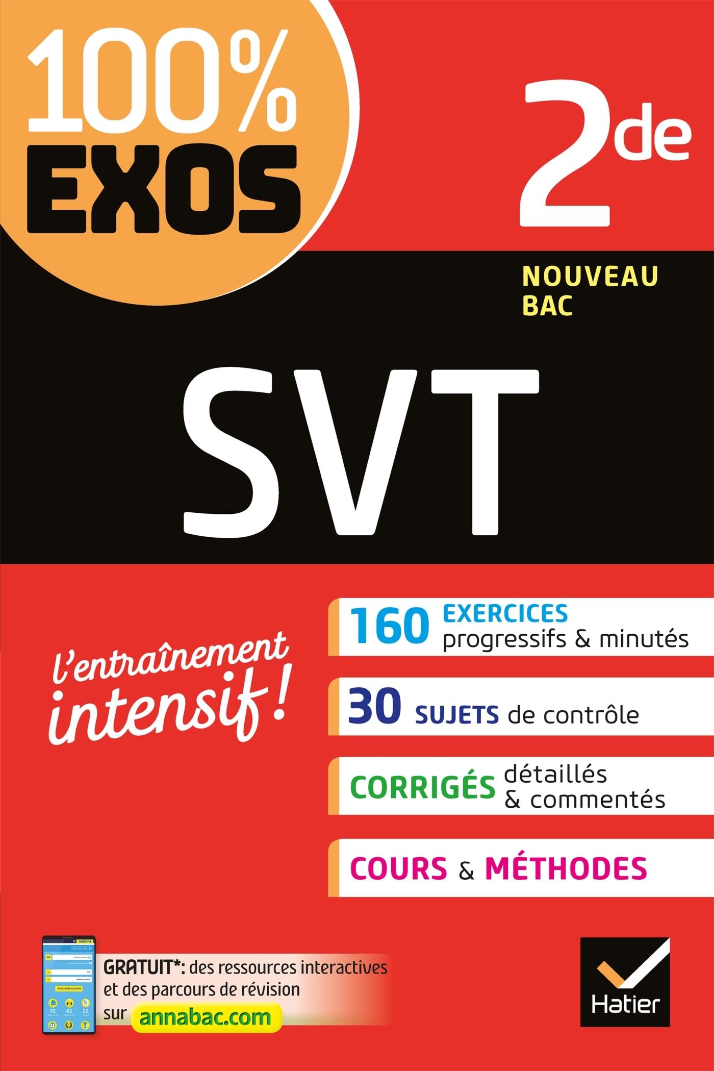 SVT 2DE - EXERCICES RESOLUS - SECONDE
