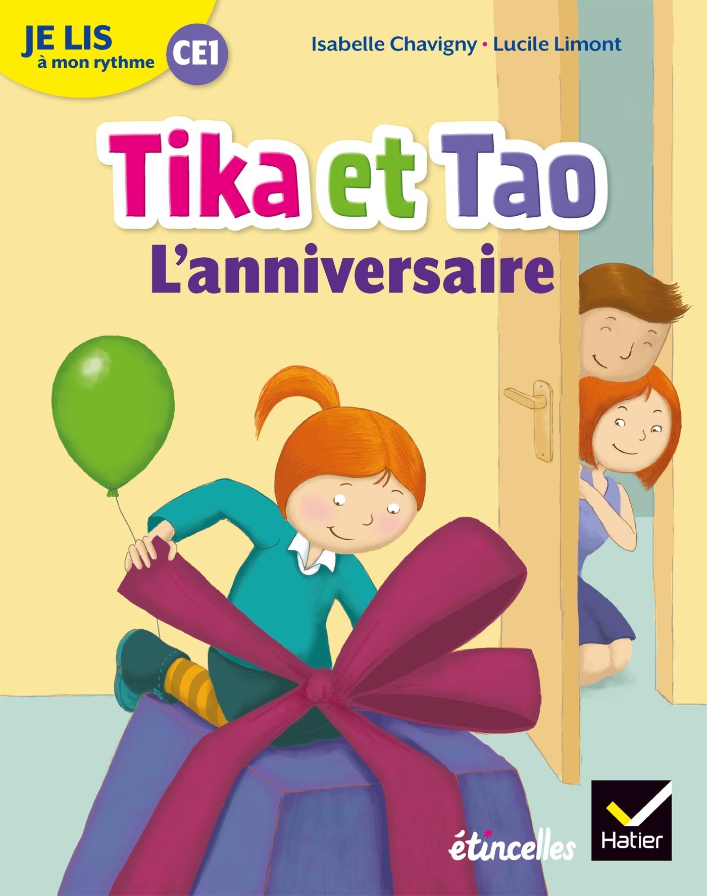 JE LIS A MON RYTHME - LECTURE CE1 ED. 2019 - TIKA ET TAO : L'ANNIVERSAIRE