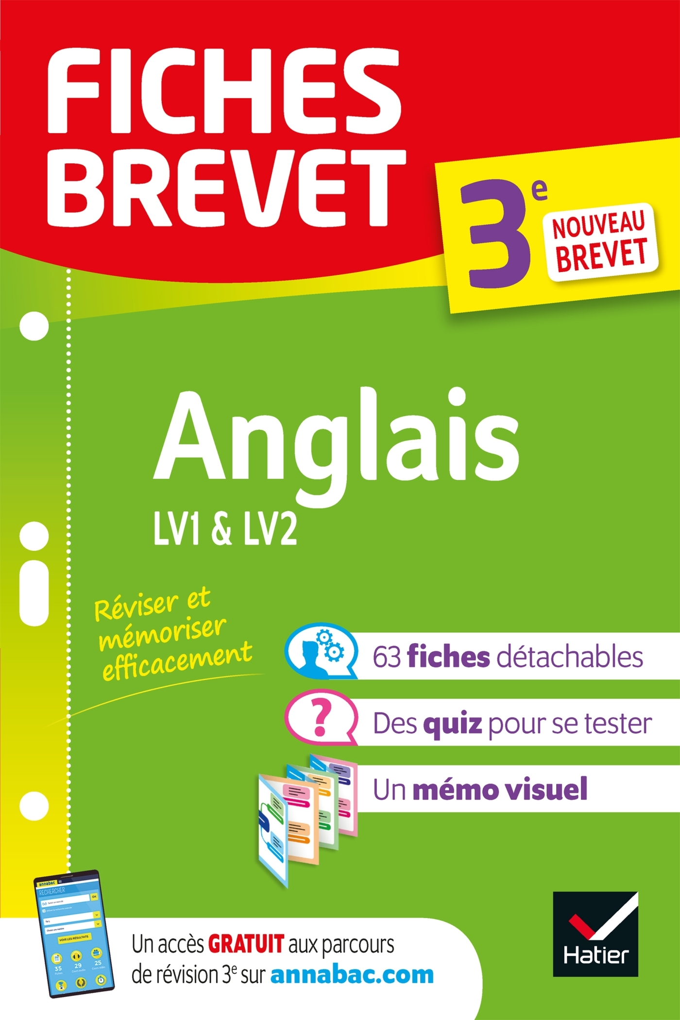 FICHES BREVET ANGLAIS 3E - FICHES DE REVISION POUR LE NOUVEAU BREVET