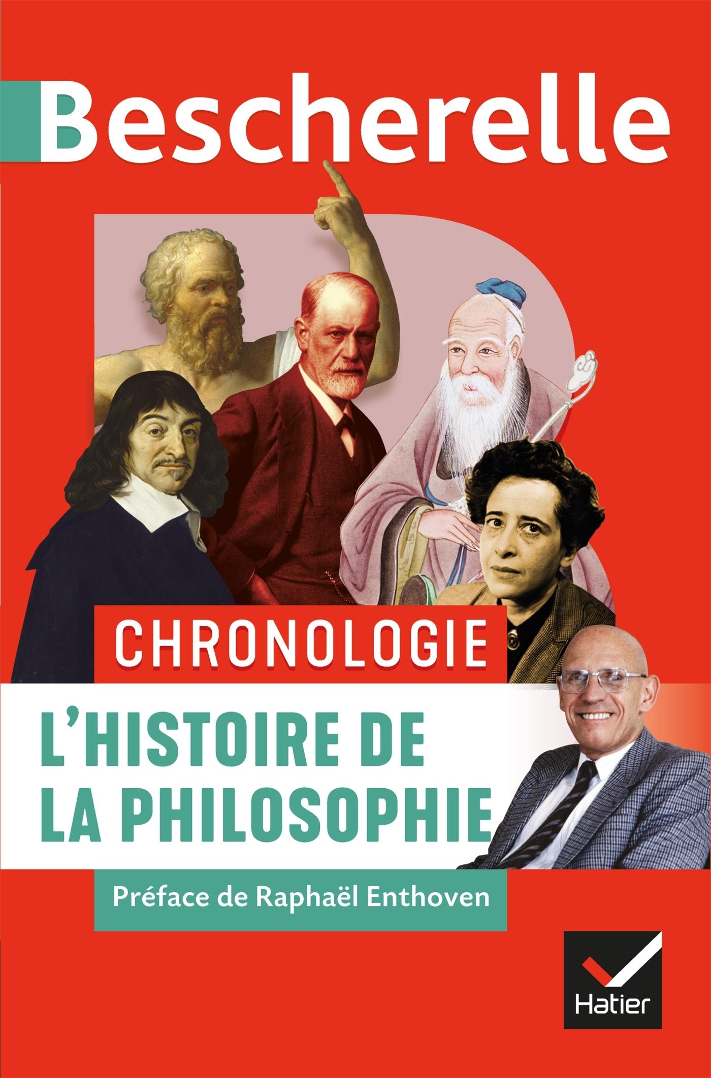 BESCHERELLE CHRONOLOGIE DE L'HISTOIRE DE LA PHILOSOPHIE - DE L'ANTIQUITE A NOS JOURS