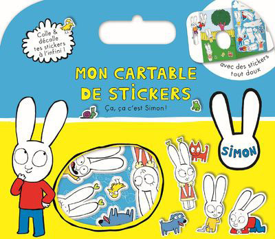 CA CA C'EST SIMON ! - MON CARTABLE DE STICKERS