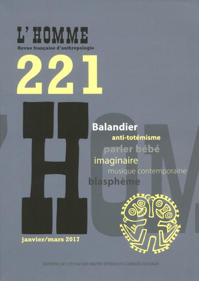 L'HOMME 221 - VARIA