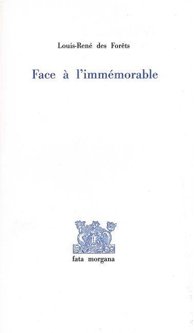 FACE A L'IMMEMORABLE-