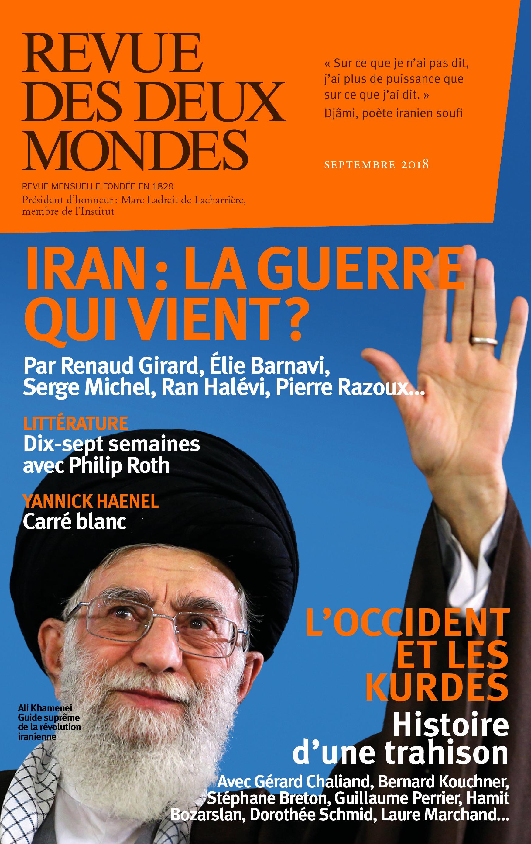 REVUE DES DEUX MONDES SEPTEMBRE 2018 - LES KURDES
