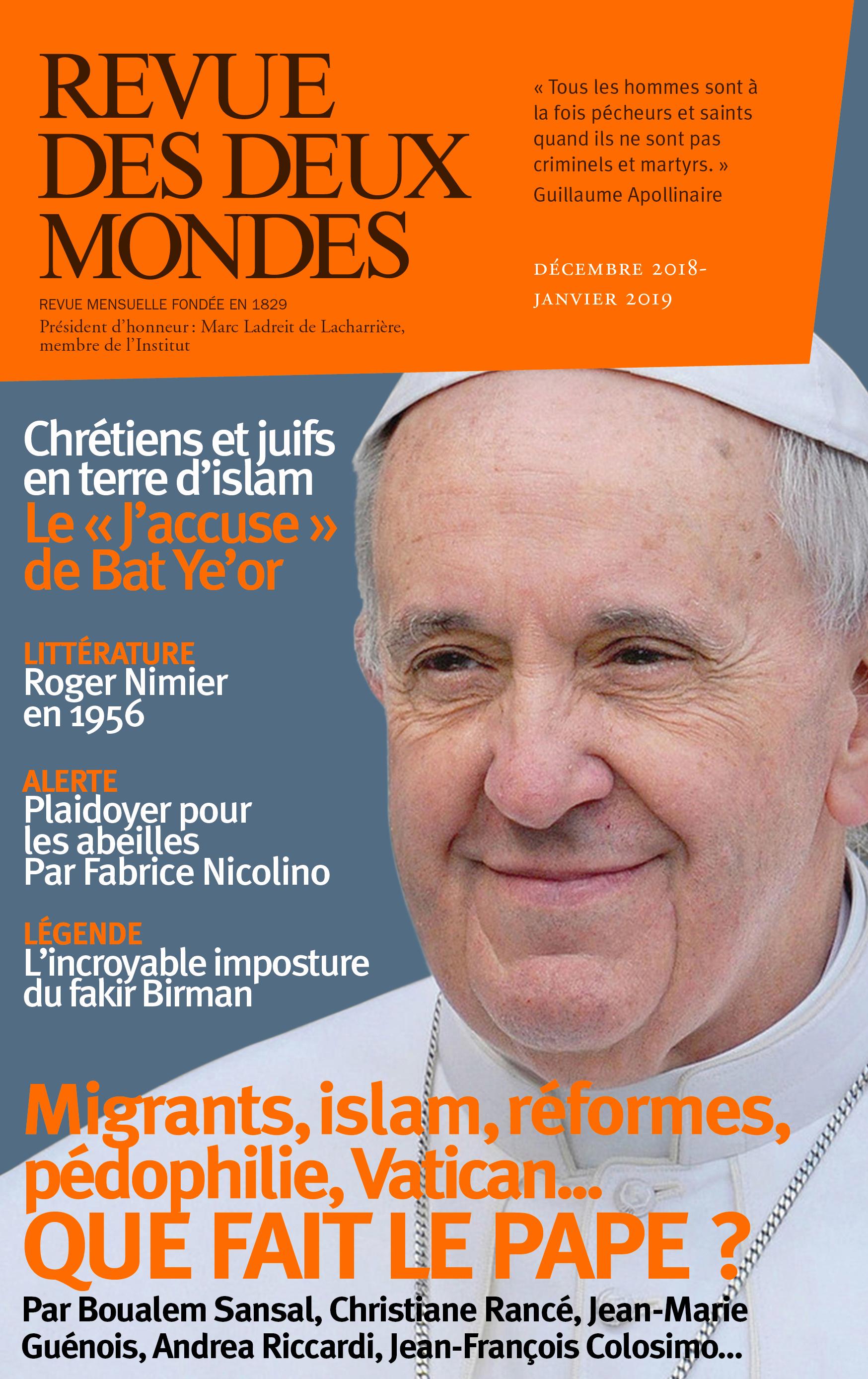 REVUE DES DEUX MONDES DECEMBRE JANVIER 2019