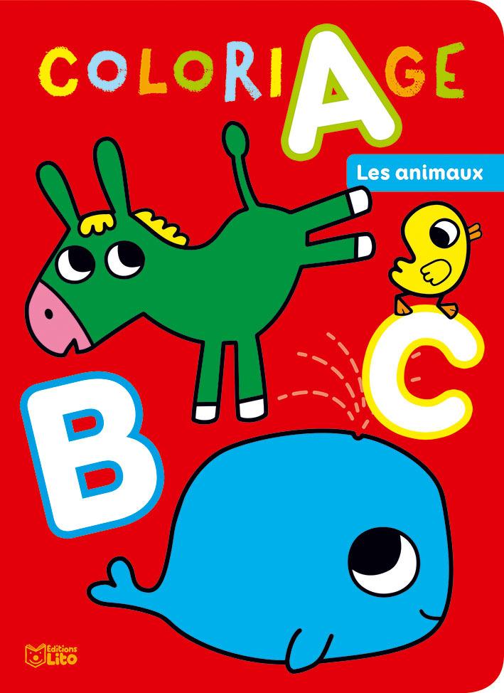 ABC A COLORIER DES ANIMAUX