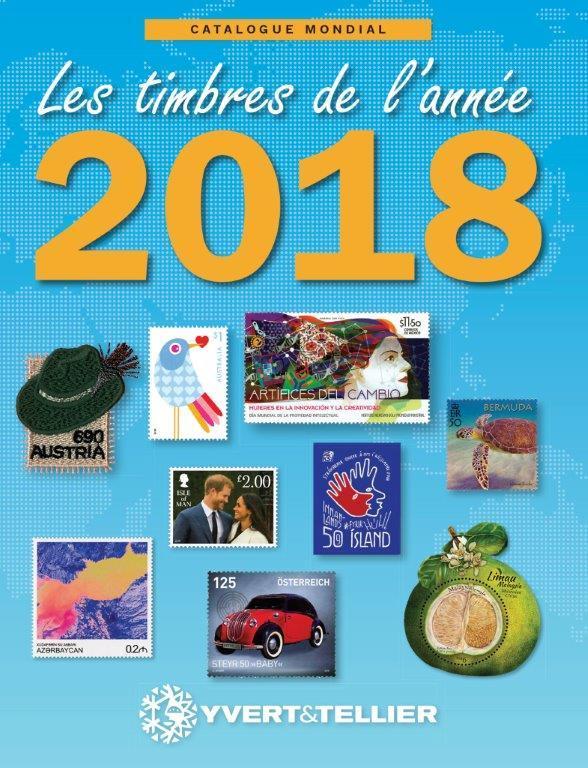 CATALOGUE MONDIAL DES TIMBRES  ANNEE 2018