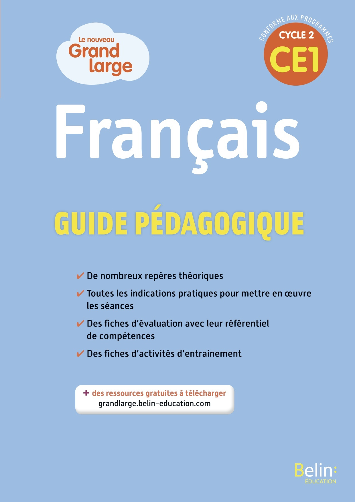 GRAND LARGE CE1 2019, GUIDE PEDAGOGIQUE