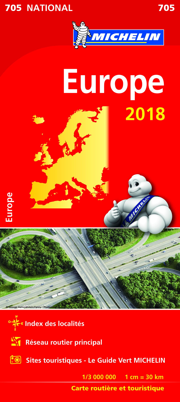 CARTE NATIONALE 705 EUROPE 2018