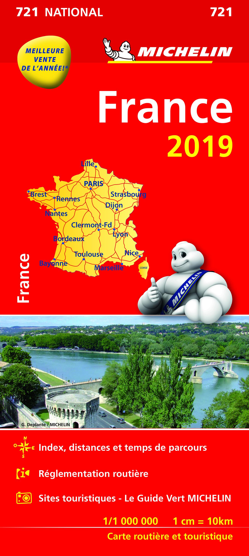 CARTE NATIONALE 721 FRANCE 2019