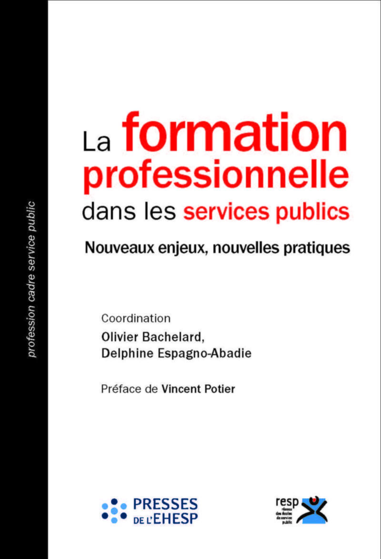 LA FORMATION PROFESSIONNELLE DANS LES SERVICES PUBLICS - NOUVEAUX ENJEUX, NOUVELLES PRATIQUES. PREFA
