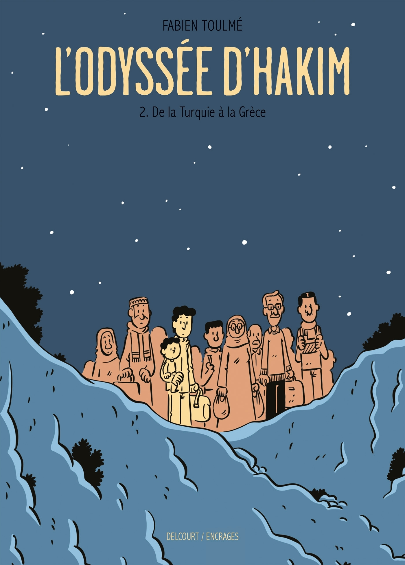 L'ODYSSEE D'HAKIM - T02 - L'ODYSSEE D'HAKIM 02. DE LA TURQUIE A LA GRECE