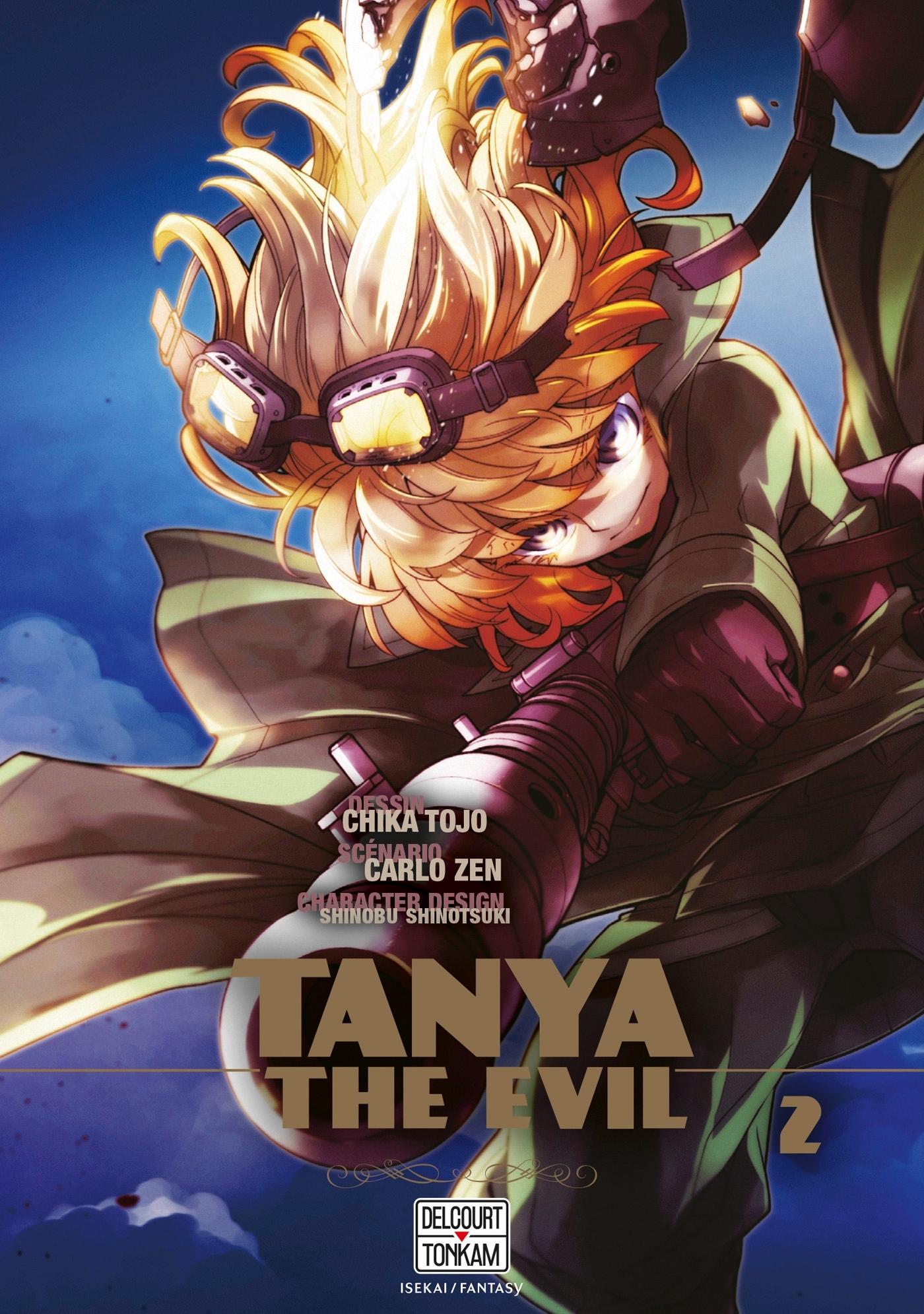 SAGA OF TANYA THE EVIL - T02 - TANYA THE EVIL 02