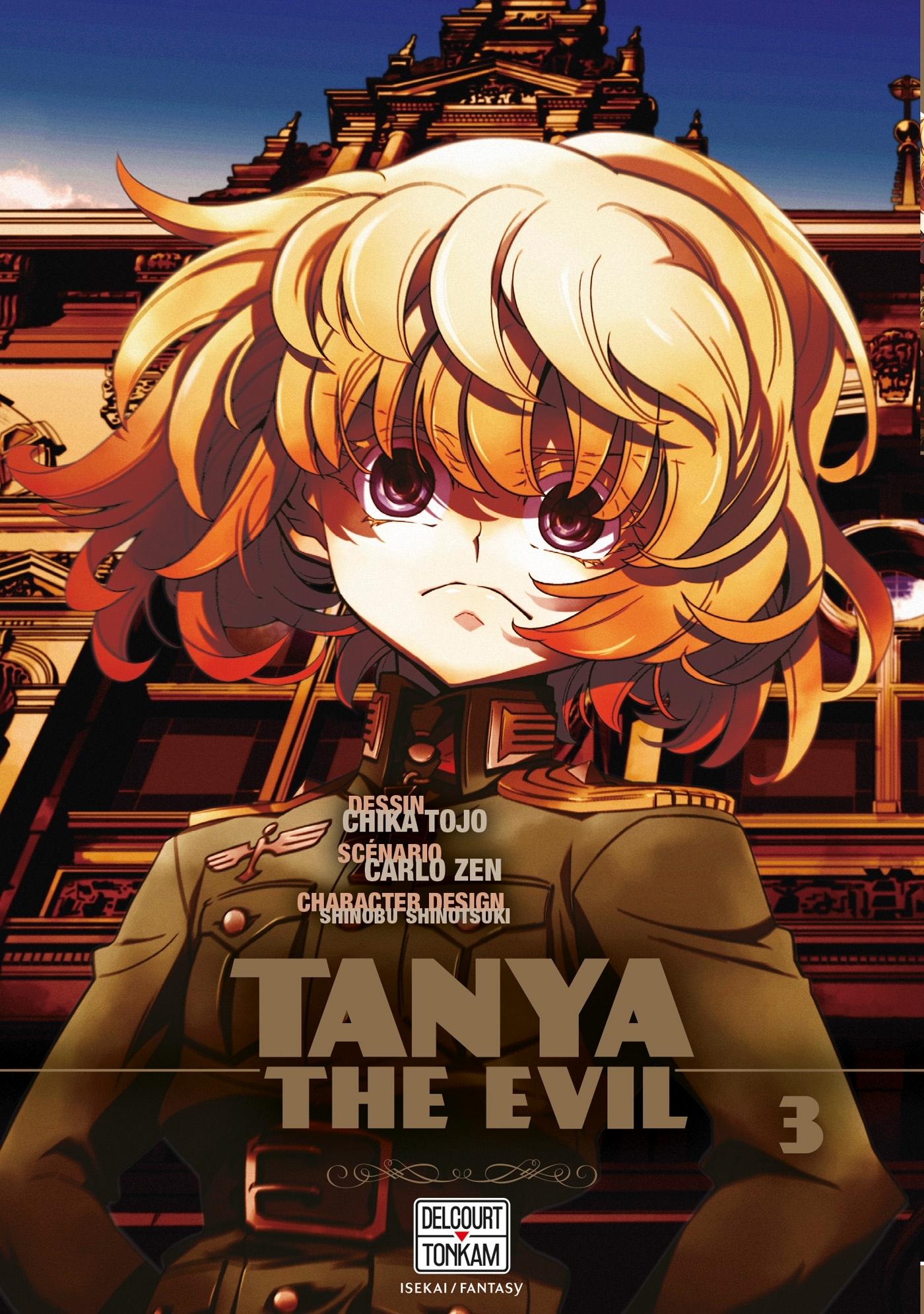 SAGA OF TANYA THE EVIL - T03 - TANYA THE EVIL 03