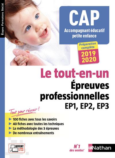 CAP ACCOMPAGNANT EDUCATIF PETITE ENFANCE - EPREUVES PROFESSIONNELLES EP1, EP2, EP3 - (EFS) - 2018
