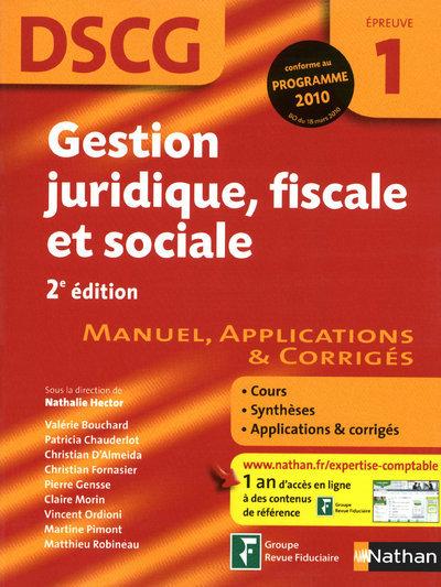 GEST JURID FISC SOC EPR 1 DSCG