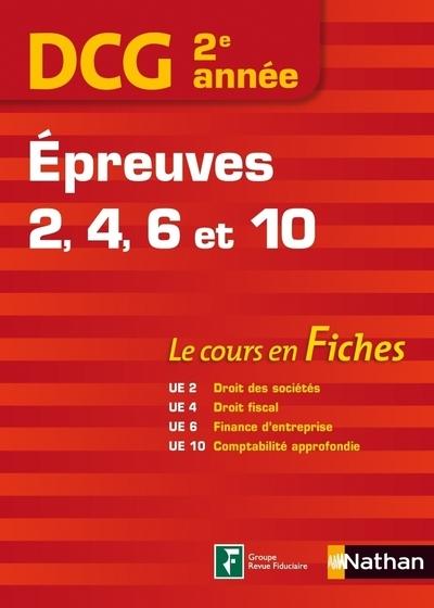 DCG 2E ANNEE EPREUV 2-4-6-10