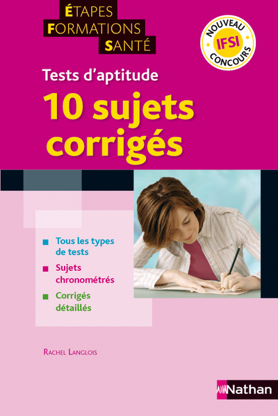 TESTS APTITUDE 10 SUJETS CORR