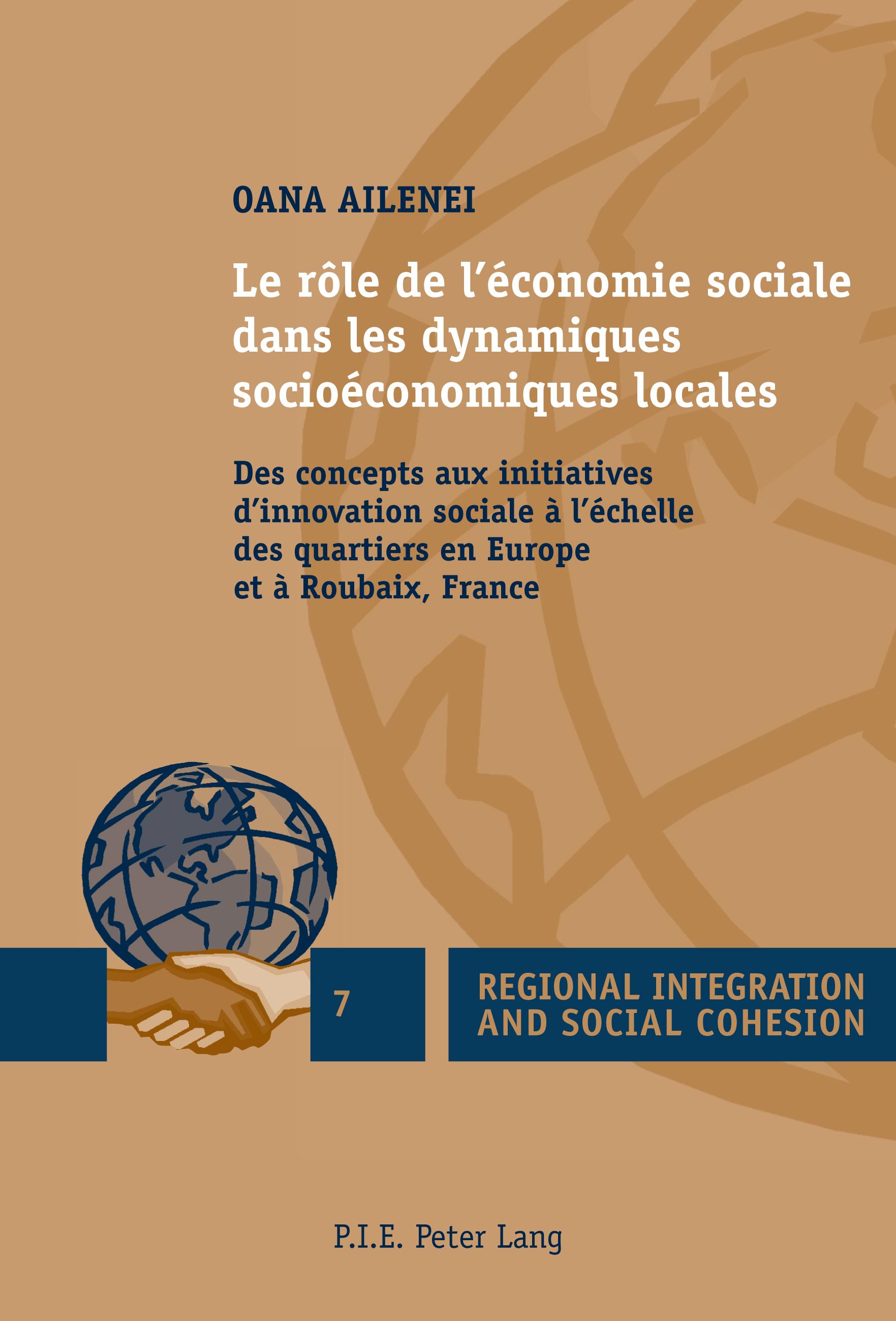 LE ROLE DE L'ECONOMIE SOCIALE DANS LES DYNAMIQUES SOCIOECONOMIQUES LOCALES