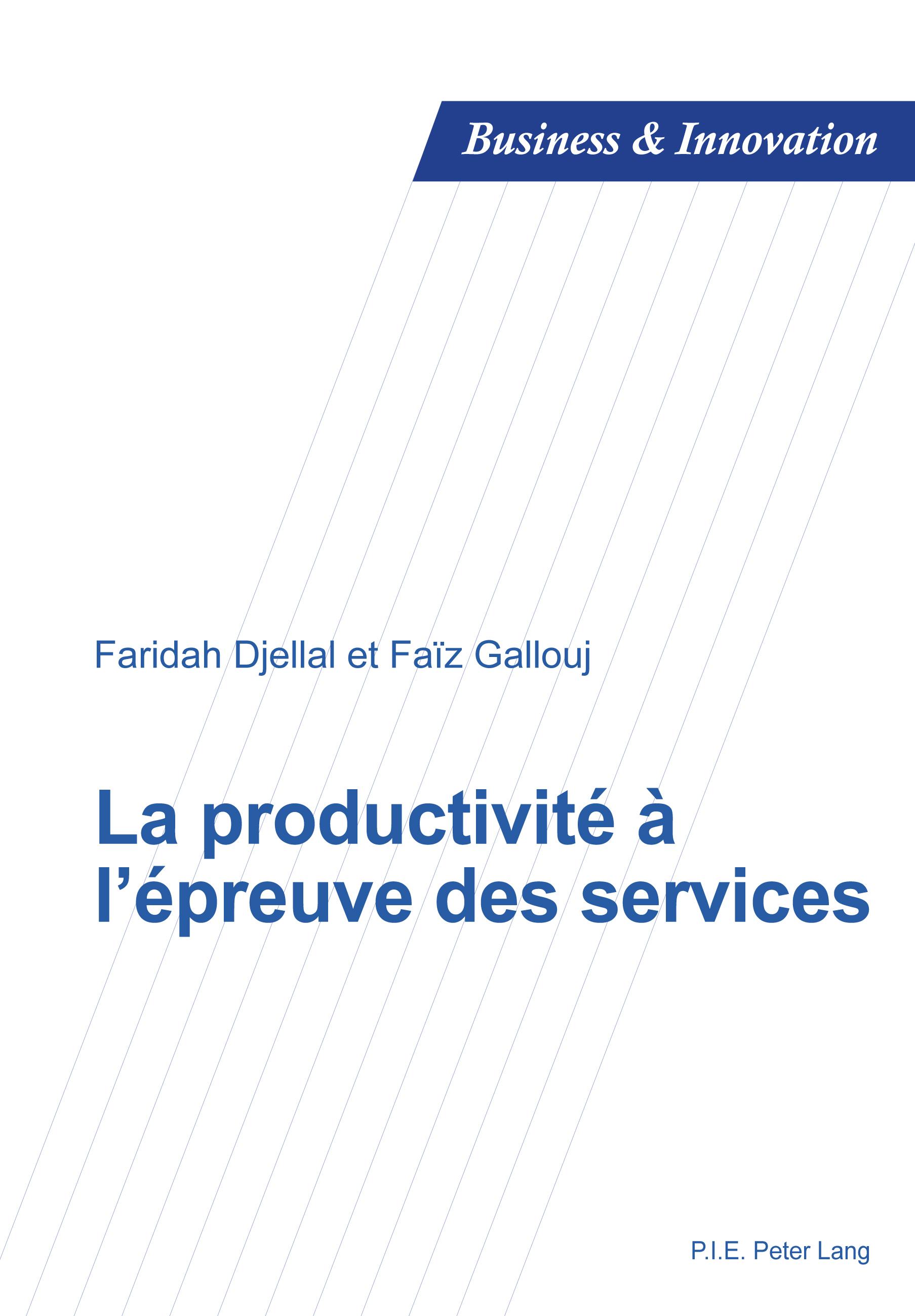 LA PRODUCTIVITE A L'EPREUVE DES SERVICES