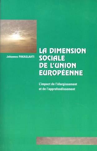 LA DIMENSION SOCIALE DE L'UNION EUROPEENNE