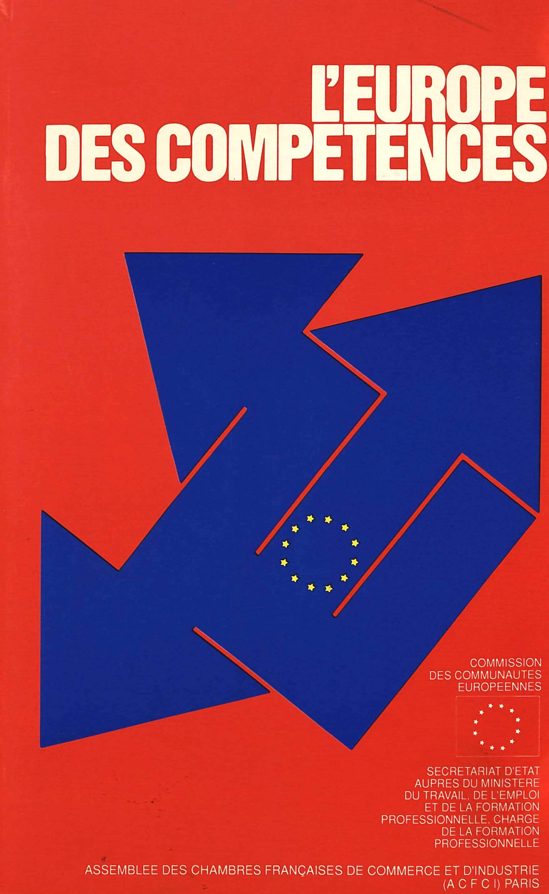 L'EUROPE DES COMPETENCES