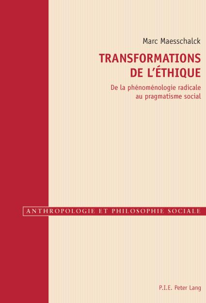 TRANSFORMATIONS DE L'ETHIQUE