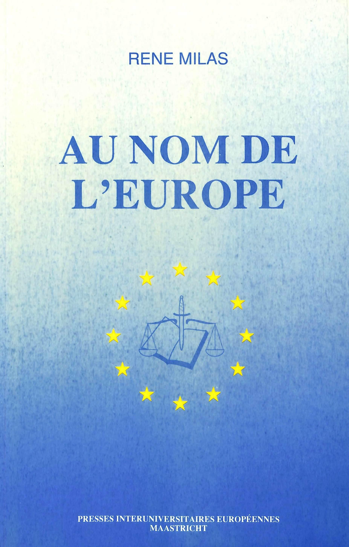 AU NOM DE L'EUROPE