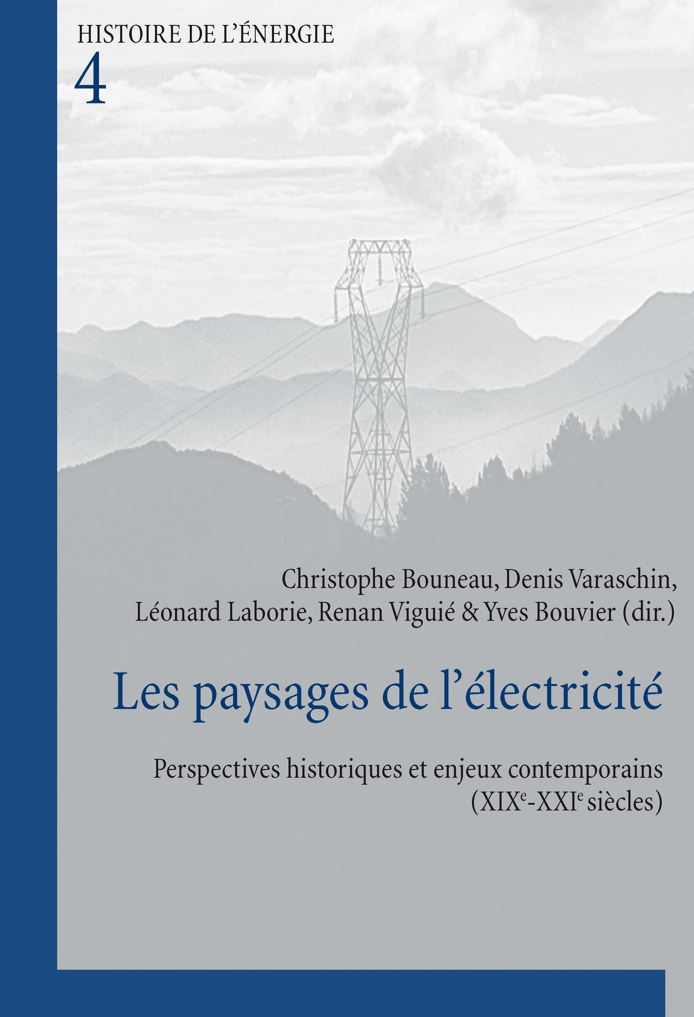 LES PAYSAGES DE L'ELECTRICITE