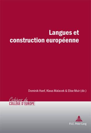 LANGUES ET CONSTRUCTION EUROPEENNE