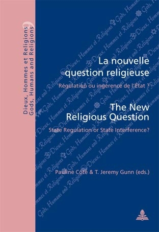 LA NOUVELLE QUESTION RELIGIEUSE/ THE NEW RELIGIOUS QUESTION