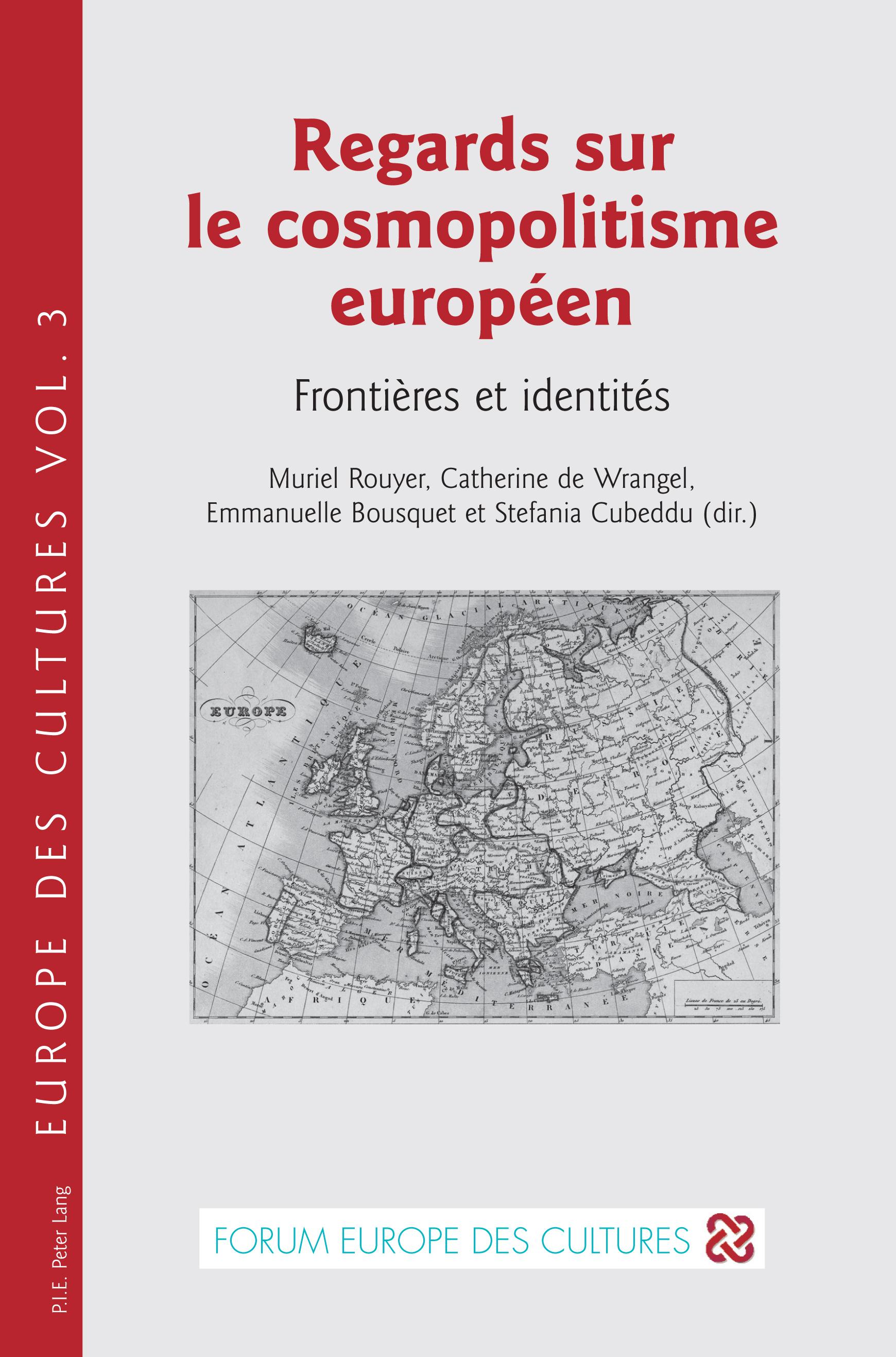 REGARDS SUR LE COSMOPOLITISME EUROPEEN